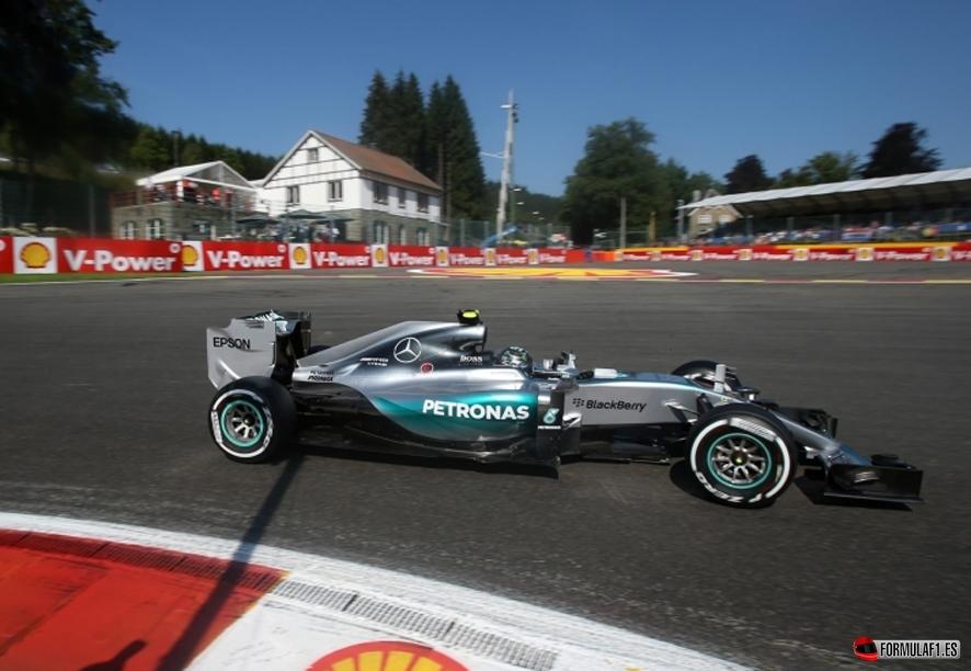 Gran Premio de Bélgica 2015 Rosber-bel-fp1