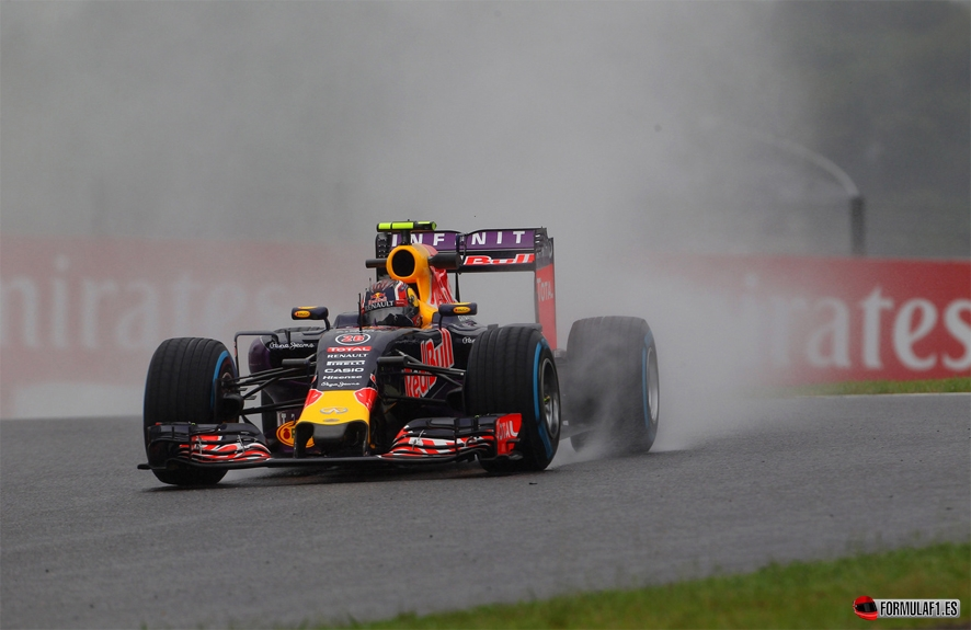Gran Premio de Singapur 2015 Kvyat-fp2