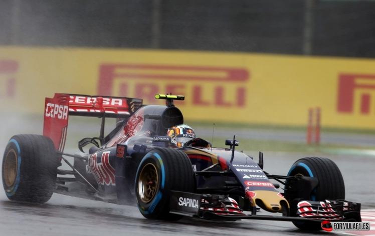 Gran Premio de Japón 2015 Sainz-fp1