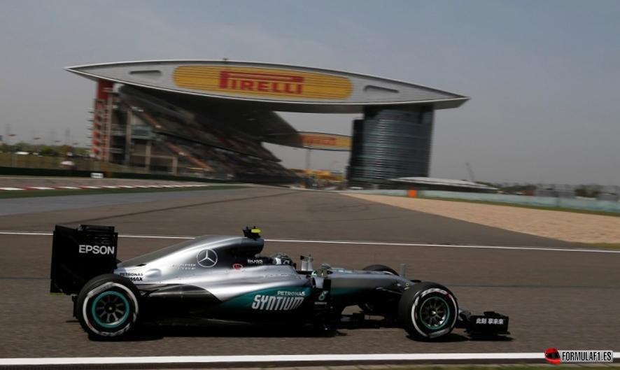 Gran Premio de China 2016 Rosberg-FP1-chi