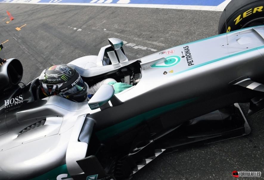 Gran Premio de Alemania 2016 Rosberg-hockenheim-fp1