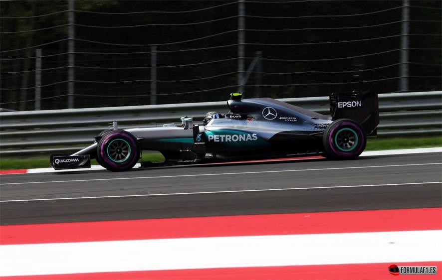 Gran Premio de Austria 2016 Rosberg-aut-fp2