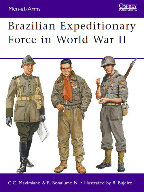 Des pilotes brésiliens dans le ciel Italien  Brazilian-Expeditionary-Force-in-World-War-II-Osprey-Publishing