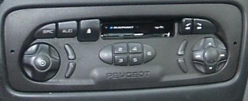 Autoradio Blaupunkt Peugeot ! PosteBlaupunkt