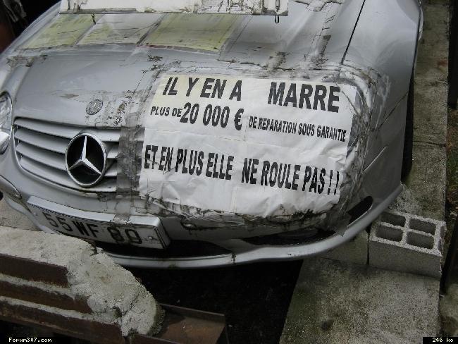 Abandon de Mercedes en signe de protestation ! [Amiens] Ilj671z