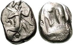 Siclo aqueménida tipo IIIb (desde Jerjes I a Artajerjes II) 12112p00