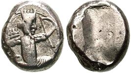 Siclo aqueménida de Dario II a Artajerjes II 12113p00