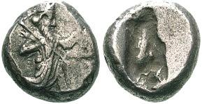 Siclo aqueménida tipo IIIb (desde Jerjes I a Artajerjes II) 12404p00