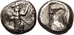 Siclo aqueménida tipo IIIb (desde Jerjes I a Artajerjes II) 15099p00