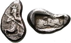 Siclo aqueménida tipo IIIb (desde Jerjes I a Artajerjes II) 16369p00