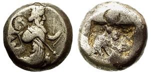 Siclo aqueménida tipo IIIb (desde Jerjes I a Artajerjes II) 80995p00