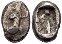 Siclo aqueménida tipo IIIb (desde Jerjes I a Artajerjes II) 81619p00