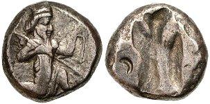Siclo aqueménida tipo IIIb (desde Jerjes I a Artajerjes II) 38639p00