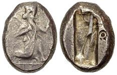 Siclo aqueménida tipo IIIb (desde Jerjes I a Artajerjes II) 49287p00