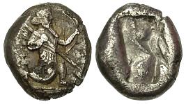 Siclo aqueménida tipo IIIb (desde Jerjes I a Artajerjes II) 83450p00