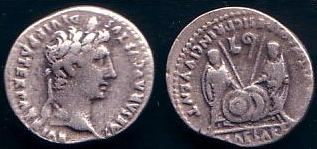 5 monedas y sólo una auténtica. Cuál es? Augustus