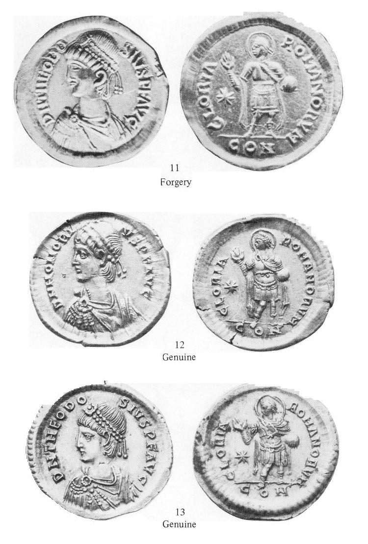Comparaison de coins du Miliarense de Théodose II   BOC_1985_CRS_11