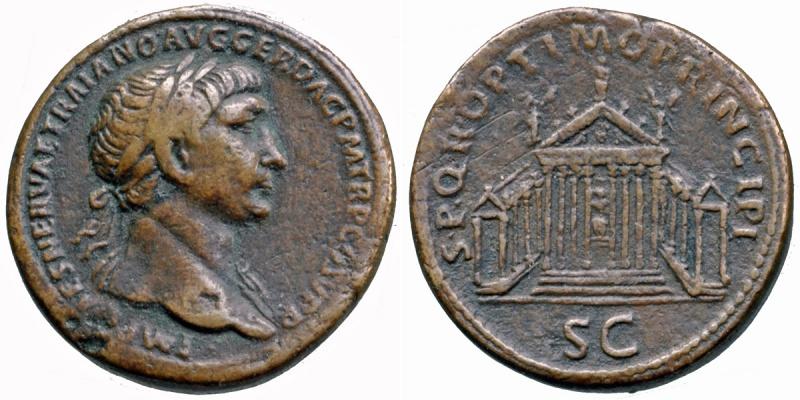 Sesterce de Trajan - CGB quoque tu? Normal_Trajse29