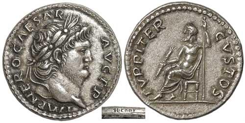 Héritage de 3 monnaies romaines, besoin d'infos Nero%20004