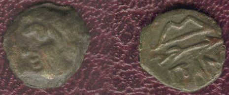 Bronce de Pantikapaion (Tracia). Bósforo. BpGB1I5Pantikapaion