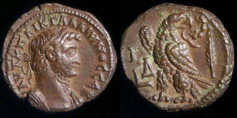 Gallien. Tetradrachme d'Alexandrie.  Normal_0440-410np_noir