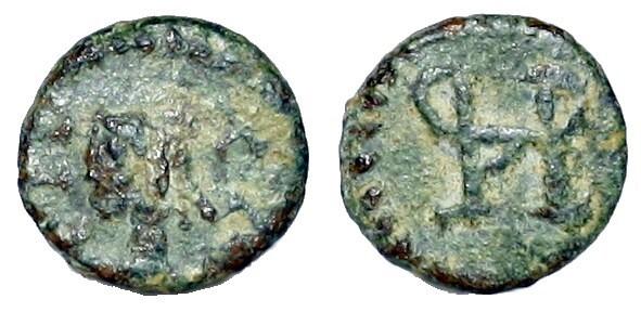 Nummus Hispánico del siglo VI-VII - (Crusafont grupo C)  Visigoths_Emeritia_ab