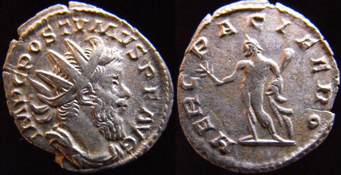 Mes bronzes du 3ème siècle - Page 5 Postume-hercpacifero
