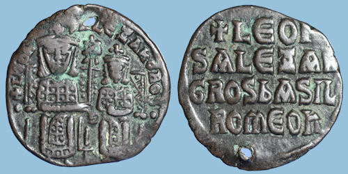 مسكوكات الامبراطور البيزنطي الكسندر  B258