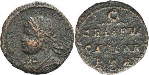 les monnaies anépigraphes pour les vicennales de Constantin Ier à Trèves 7tri-488