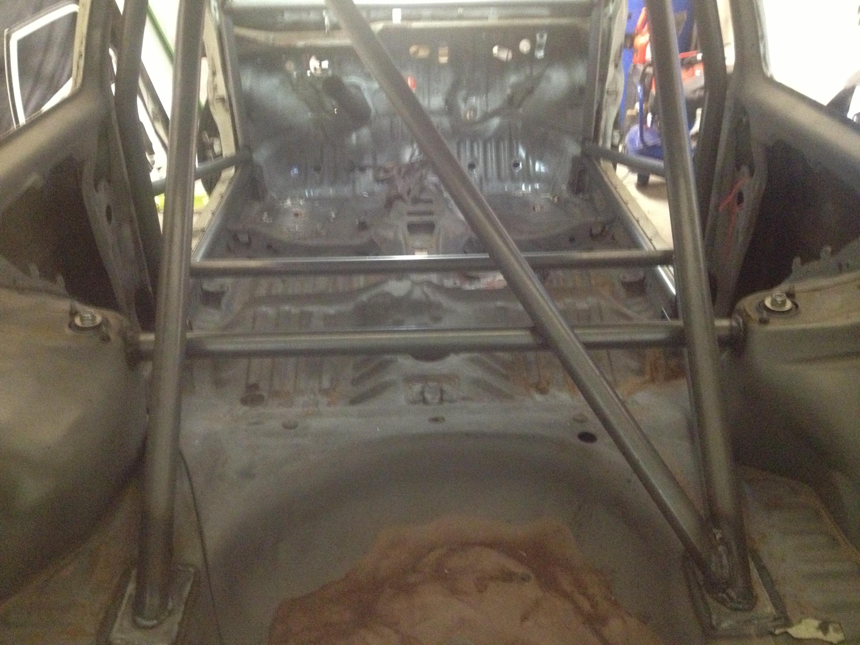 Skrotnisses Toyota starlet fwd Rallystuk med turbo EvA94