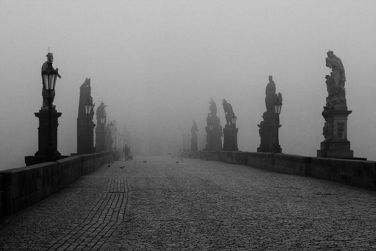 Arhitektura koja spaja ljude - Mostovi Karluv-most-mlha