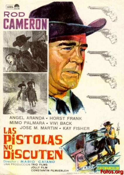 Mon Colt fait la loi - Le pistole non discutono - Mario Caiano - 1963 - Page 2 1964-Las-pistolas-no-discuten-Mario-Caiano-esp