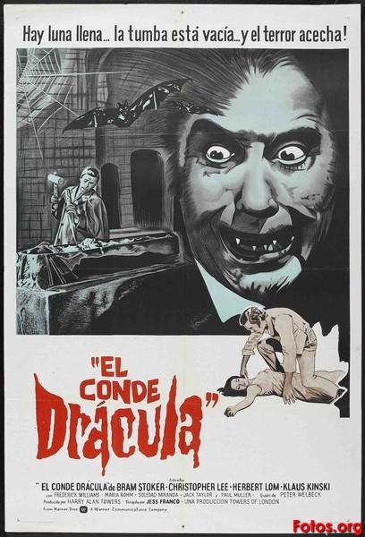 -Los mejores posters/afiches  del cine de terror y Sci-fi- - Página 2 1970-El-conde-Dracula-Jesus-Franco-argentino