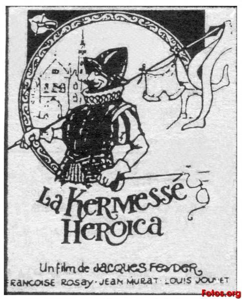 LA KERMESSE HEROICA (1935 - SUBTITULOS EN CASTELLANO) FEYDER-1935-La-kermesse-heroique-La-kermesse-heroica-ES000-1A-cartel-1970-s-CL444