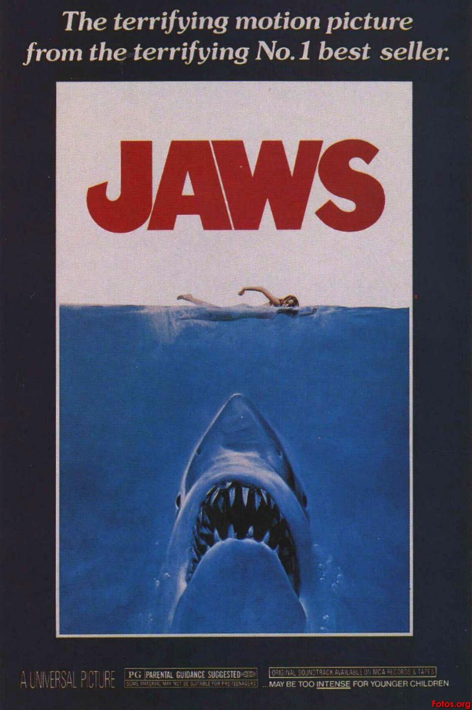 Las Peliculas de Vuestra Infancia Movie-Poster-Jaws