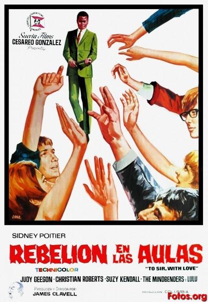 SANT JORDI Rebelion-en-las-aulas-TO-SIR-WITH-LOVE-1967-Jano