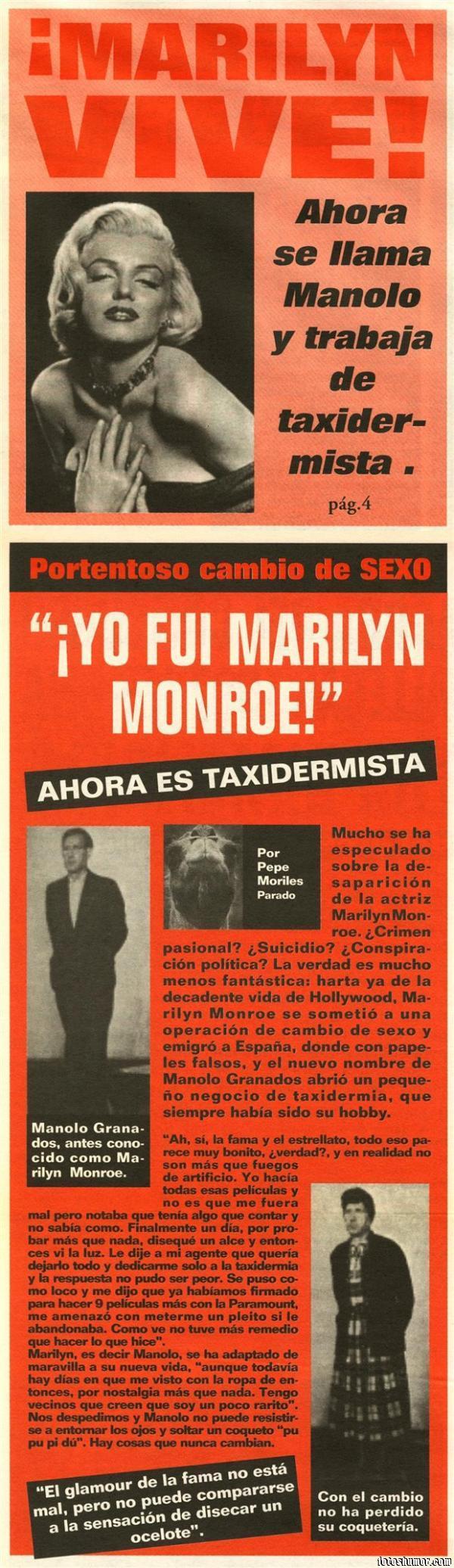 PUES SÍ... ESTAS COSAS OCURREN... - Página 6 336441438356235-Marilyn-Monroe-vive