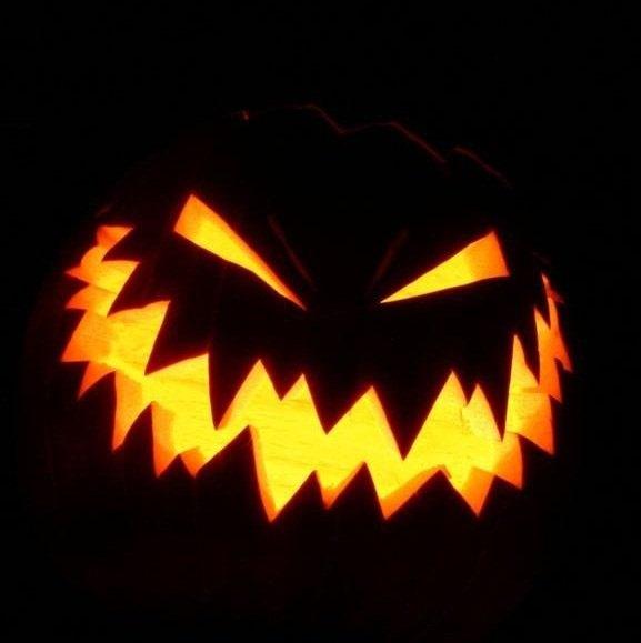 Eu desisto da minha vida... Abobora-halloween