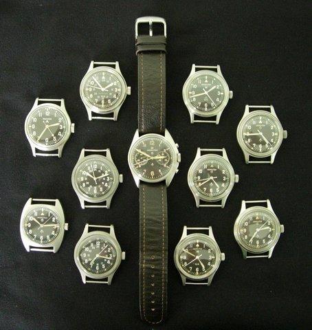Hamilton G.S. et autres Hamilton militaires/ focus sur les navigational watches Standard