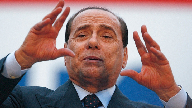 SILVIO BERLUSCONI - The hands of the Prime Minister of Italy! Silvio-Berlusconi