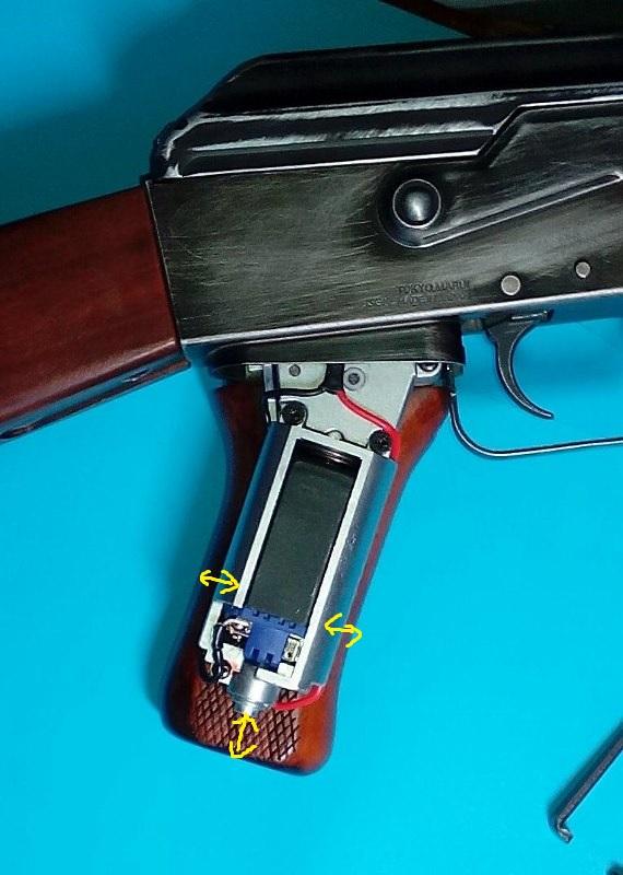 AK47 Type 3 marui - customisation avec du vrai bois d'arbres Gallery_22386_489_164130