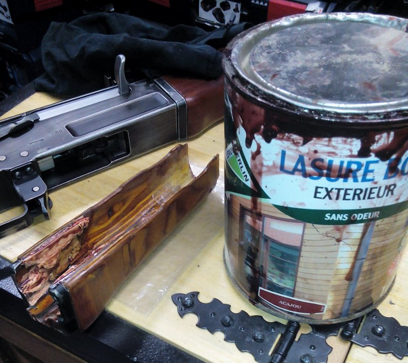 AK47 Type 3 marui - customisation avec du vrai bois d'arbres Gallery_22386_514_148102