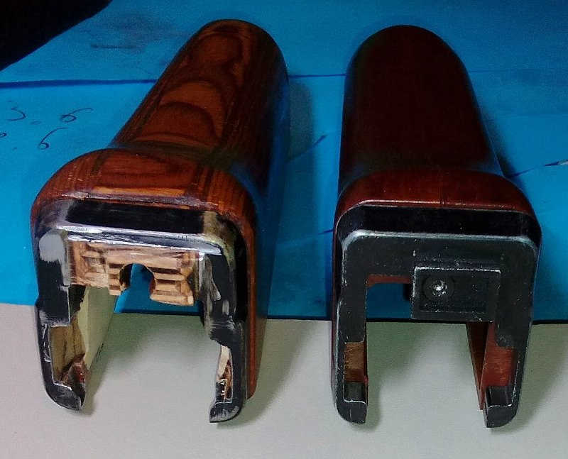 AK47 Type 3 marui - customisation avec du vrai bois d'arbres Gallery_22386_514_16899