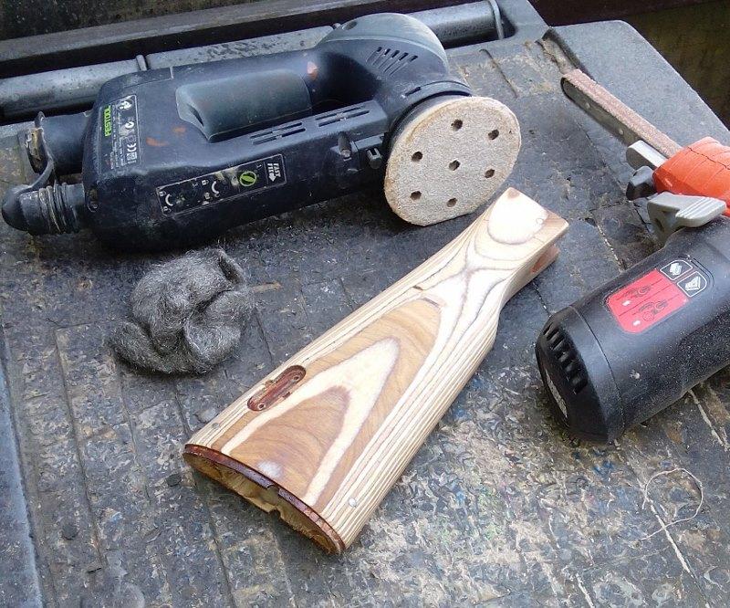AK47 Type 3 marui - customisation avec du vrai bois d'arbres Gallery_22386_514_196474