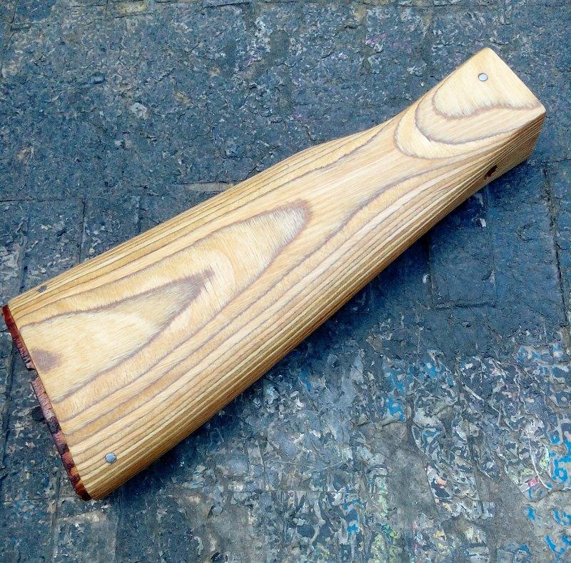 AK47 Type 3 marui - customisation avec du vrai bois d'arbres Gallery_22386_514_35093