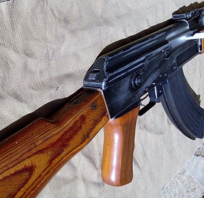 AK47 Type 3 marui - customisation avec du vrai bois d'arbres Gallery_22386_514_54327
