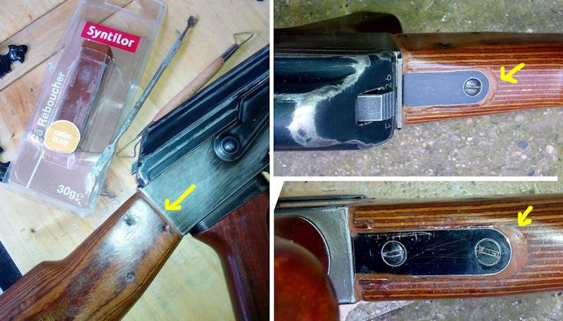 AK47 Type 3 marui - customisation avec du vrai bois d'arbres Gallery_22386_514_59156