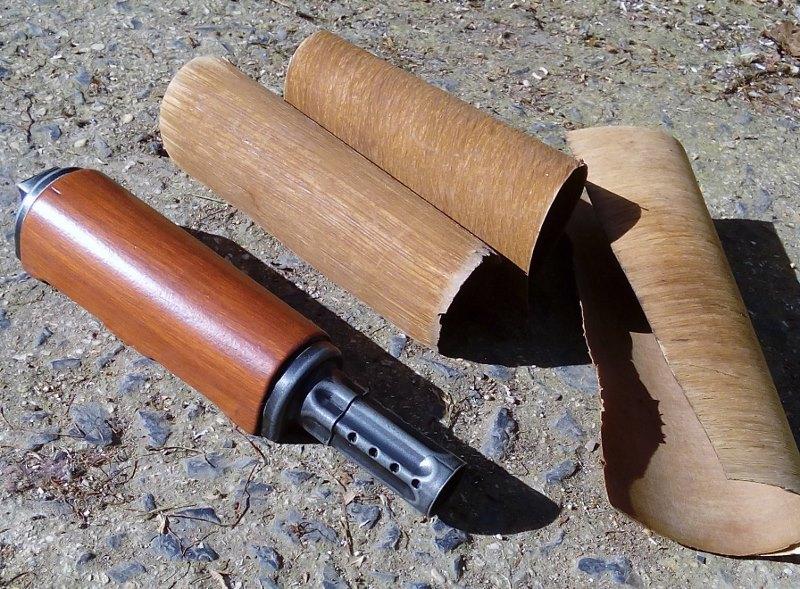 AK47 Type 3 marui - customisation avec du vrai bois d'arbres Gallery_22386_514_61331
