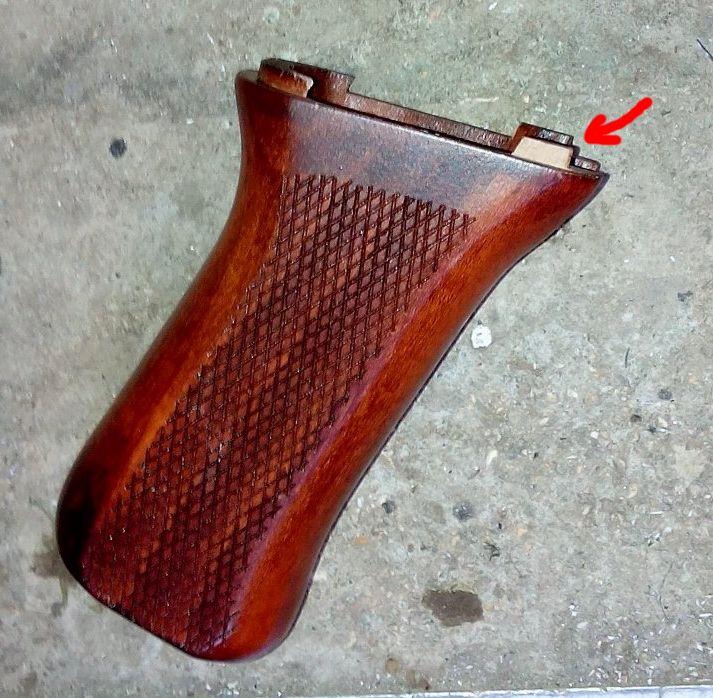 AK47 Type 3 marui - customisation avec du vrai bois d'arbres Gallery_22386_514_82412