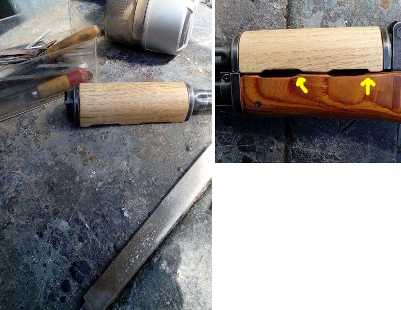 AK47 Type 3 marui - customisation avec du vrai bois d'arbres Gallery_22386_514_86851